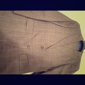 Other - Men's SuitSupply suit wool silk linen hardly worn